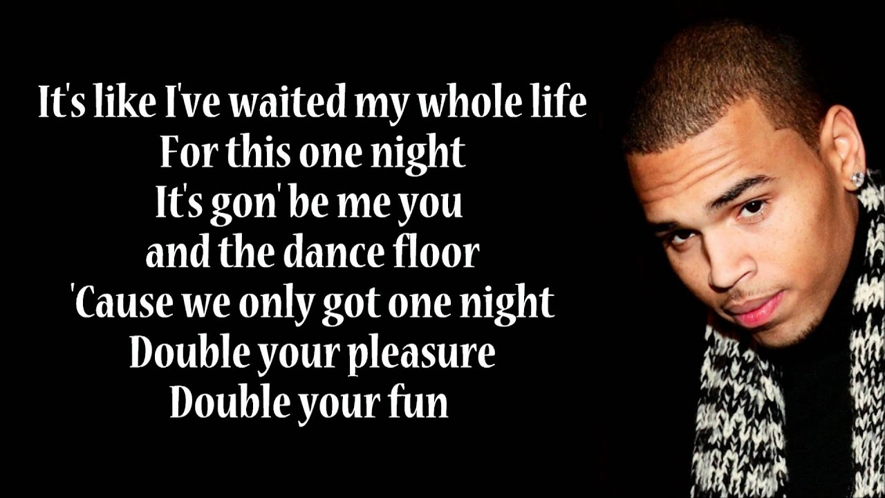 Chris Brown - Celebrity Lyrics