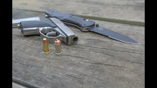 Street tactics for the Seecamp pistols or other small guns; Street Cop, Straight Talk
