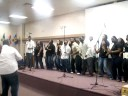 "SCC Gospel Choir singing ""Mighty Long Way"""