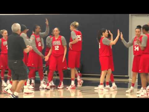 USA Basketball Women's National Team Practice (02/21/16)