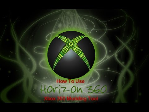 How to Use Horizon   An Xbox 360 Modding Tool