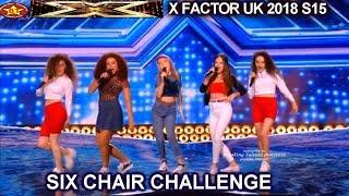 Sweet Sense Girl Group Get Chair | Six Chair Challenge X Factor UK 2018