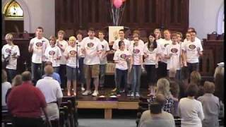 Closing Hymn Shine Jesus Shine.wmv