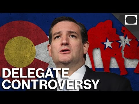 How Did Ted Cruz Win Colorado Without Any Votes?