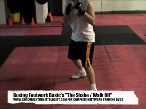 Coach Rick Boxing Footwork Development / Unique Pad workout Focus Mittwork & Fitness Training Image 1