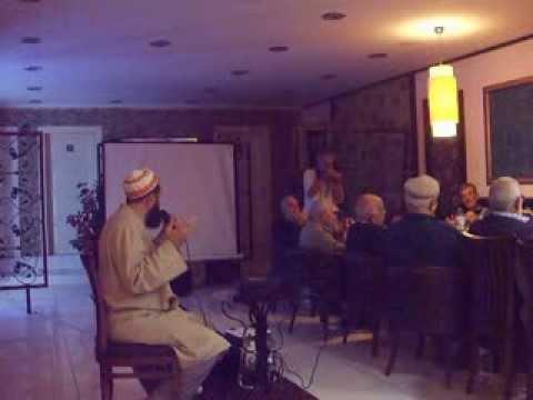Derince TRUSTİK minübüs şöförleri&muavinleri toplantısı KUR'AN-I KERİM okuması.