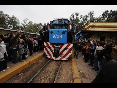 11 de SEP. Florencio Randazzo reinauguró el tren de cargas hasta Palpalá.