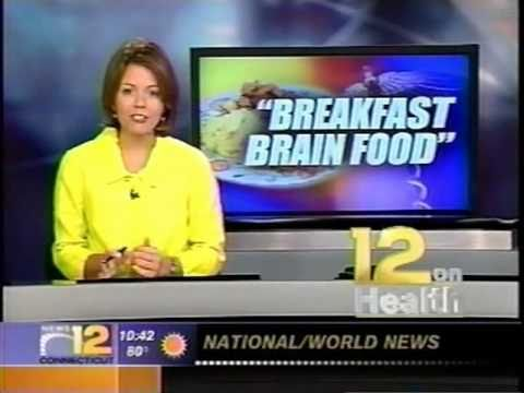 Breakfast Brain Food Segment on News 12