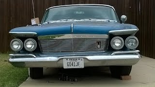 1961 Chrysler Imperial Video 1: CL Score! As found!