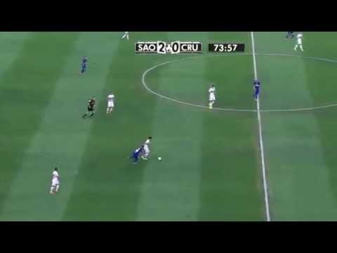 Ganso ● Jugada Increible ante Cruzeiro ●