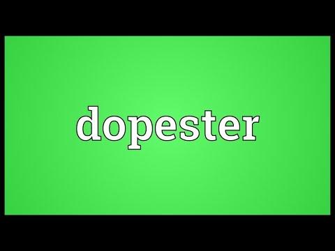 Header of dopester