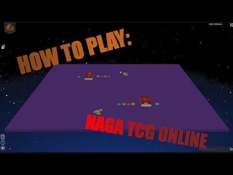 How to play Naga TCG Online