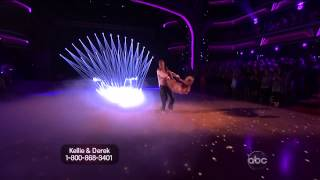 Kellie Pickler & Derek Hough - Freestyle - Dancing With the Stars 2013 - Week 10