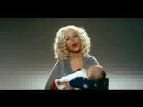 Christina Aguilera Rocks the Vote-- Extended Version