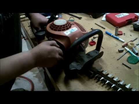 How to repair hedge trimmer cable