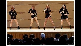 수업에 지친 학생들에게 멋진 K-POP 공연 선사