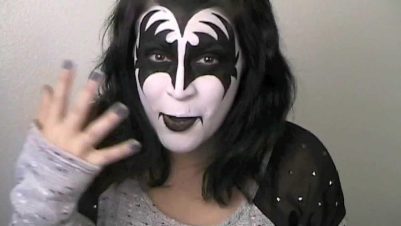 Gene simmons makeup