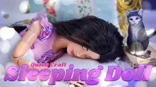 DIY - How to Make: Doll Eyelids | Close your Dolls Eyes! Quick Craft