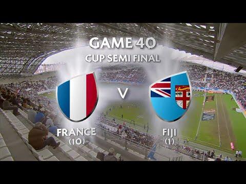 Fiji Vs France Cup Semi Final Paris 7s 2016 Full Game
