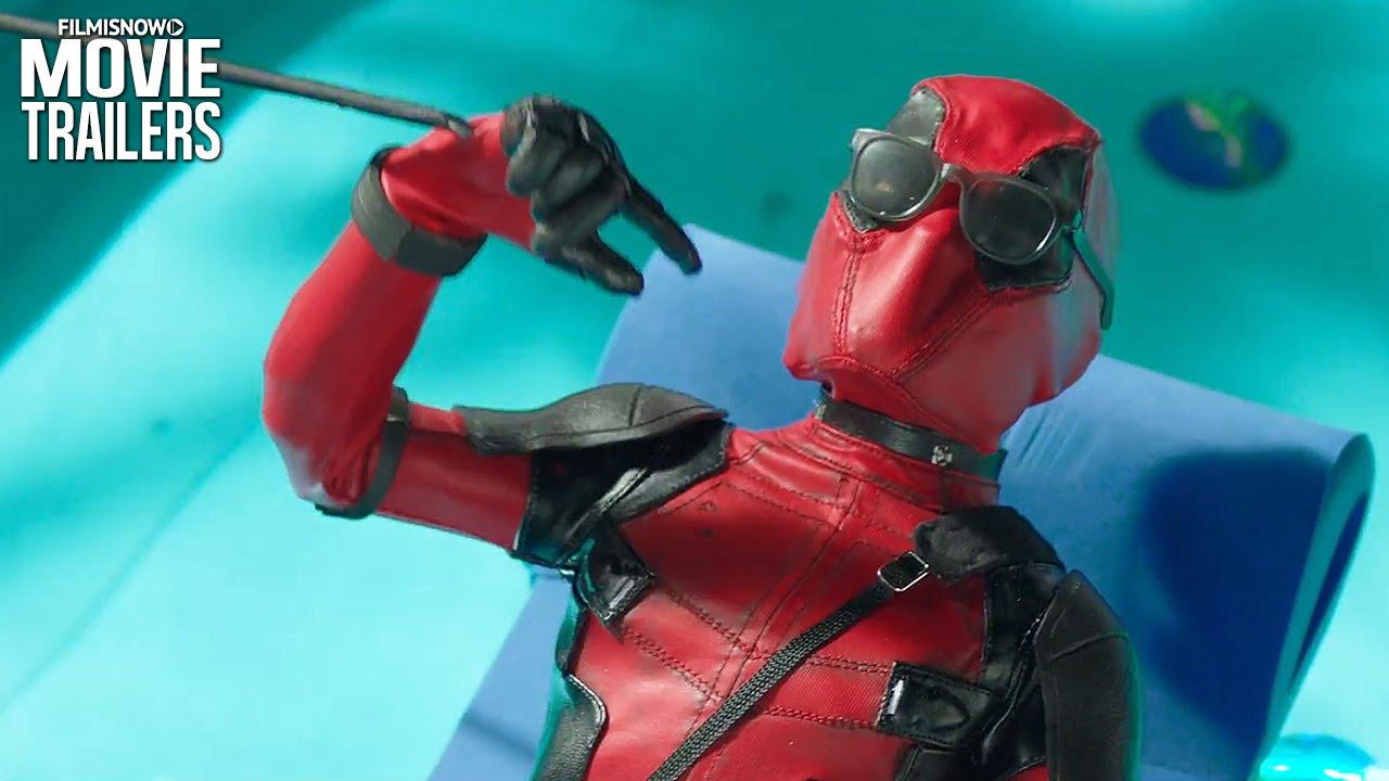 DEADPOOL | Stan Lee is a poolside puppet DJ in the NEW 'Adult Swim' Spot [HD]