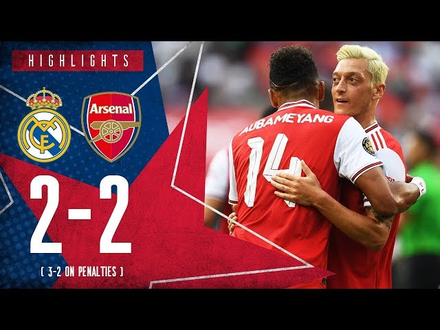HIGHLIGHTS: Real Madrid 2-2 Arsenal | 3-2 on penalties | ICC 2019 thumbnail