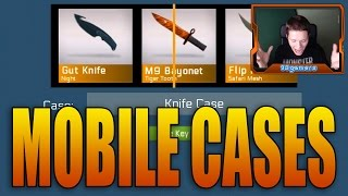Mobile Mondays Ep. 17: Mobile CS:GO Case Opening! (CounterStrike Cases Game)