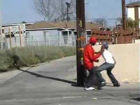Crips vs. Bloods Gangsta Homies (Red vs. Blue)