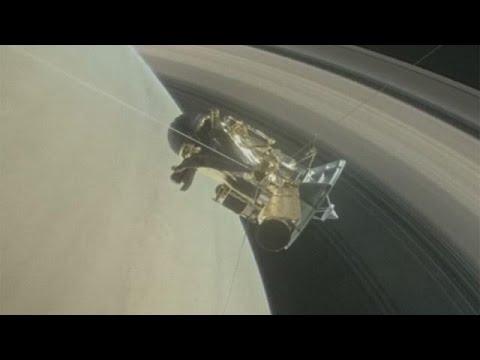 Images inédites des anneaux de Saturne grâce à la sonde Cassini