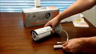Hikvision DS-2CD2232-I5 3MP EXIR Bullet Camera unboxing by Intellibeam.com