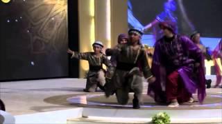 فرقة الكوفية مهرجان الجزيرة 2014- الرقصة الأولى
