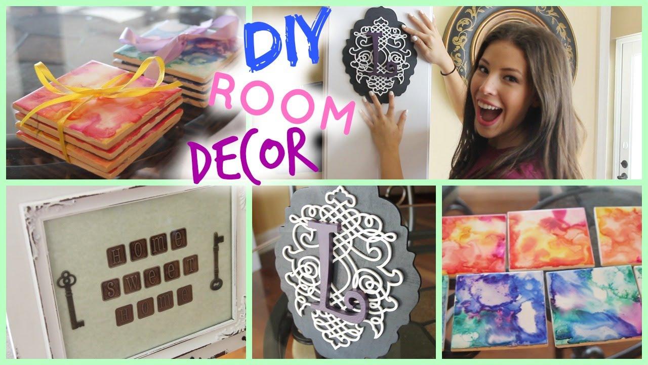 Diy room apartment decor cute cheap youtube - Apartment diy decorating ...