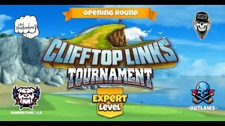 Golf Clash - Clifftop Links Tournament Expert Opening Round