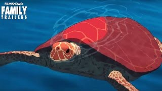 THE RED TURTLE | Official Trailer [Studio Ghibli Animated Movie] HD