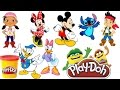 Play Doh Mickey Mouse Clubhouse Full Episodes Disney Minnie Jake Stitch Donald Anna Elsa Frozen MP3