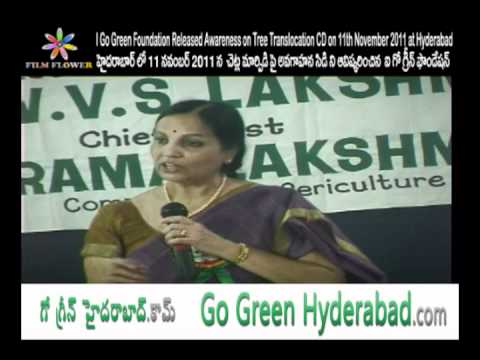 I Go Green Foundation Released Awareness on Tree Translocation CD Speech Video 3