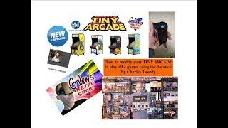 *NEW VERSION* Mod your Tiny Arcade V2! Joystick Selection Mod