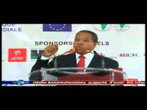 Roland RATSIRAKA, Congrès Malgache de la route et des Transports CMRT, extrait du journal TV PLUS