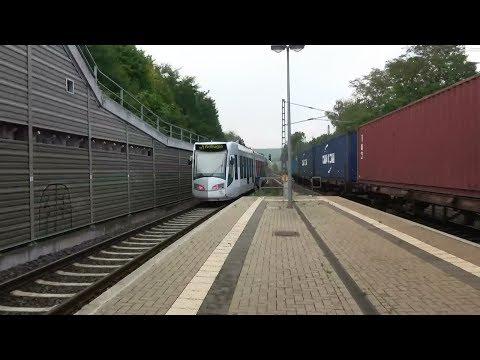 Diverse treinen/Züge/trains & RBK Alstom RegioCitadis | Bahnhof Vellmar-Obervellmar | 26 sept. '17