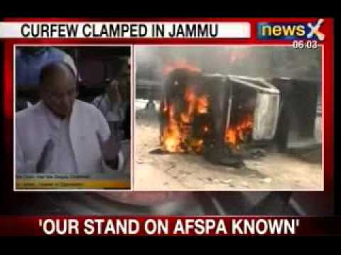 NewsX: Curfew clamped in Kishtwar District of Jammu and Kashmir