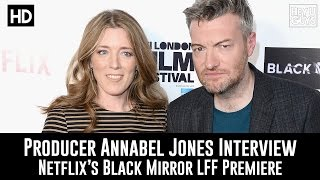 Producer Annabel Jones Premiere Interview - Black Mirror Season 3