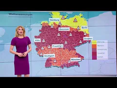 So wird das Wetter Sturmtief Friederike schГttelt Deutschland ordentlich durch