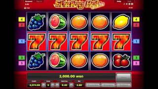 sizzling hot big win