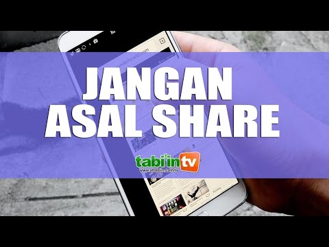 JANGAN ASAL SHARE - Ustadz Muhammad Syahri