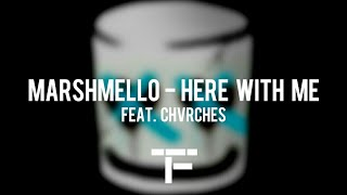 [TRADUCTION FRANÇAISE] Marshmello - Here With Me Feat. CHVRCHES