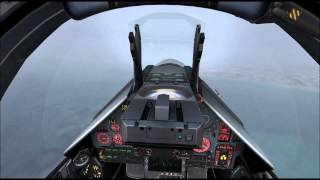 FSX Metal2Mesh Mirage2000C Typhoon Weather land ROAH  1