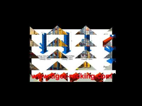 Save Space VNA Pallet Racking