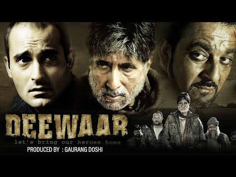 Deewar [2004]: Hindi Full Movie: Amitabh Bachchan: Akshaye Khanna: Sanjay Dutt