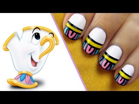 Beauty and the Beast Nails - A CutePolish Disney Exclusive