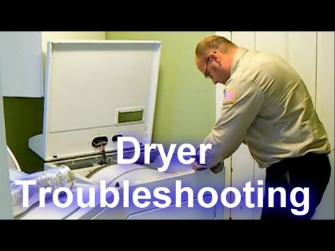 Dryer Troubleshooting - Not Drying or Taking a Long Time to Dry