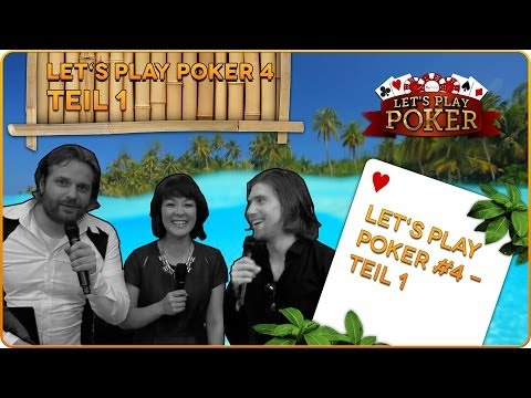 Let's Play Poker #4 - Bahamas Edition - TEIL 1/6 // 11.01.2014 MyVideo Charity-Poker Event